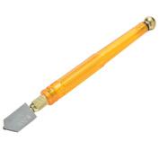 Ioffersuper Skidproof Handle Steel Blade Glass Cutter Diamond Tipped Tool