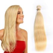 Tuneful Hair 30cm Remy Human Hair Extensions 7A Human Hair Weave Blonde #613 Brazilian Straight Hair