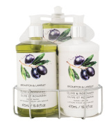 Brompton & Langley Kitchen Caddy Set, Olive Rosemary