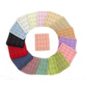 Ewandastore 10 Pcs Assorted Colours 4 Hooks 4 Rows Women Bra Extender Strap