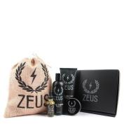 Zeus Everyday Beard Grooming Kit- Men's Daily Set for Quality Beard Maintenance (Scent