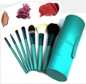 ZOREYA Exclusive Makeup Brush Set Includes 7 Professional Makeup Brushes With Premium Synthetic Fibre And Free Luxury Purple Case As Good As MAC Or Sigma Just Better Price
