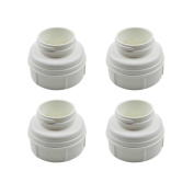 Mom's Heart Baby Bottle Thread Changer; Allow Spectra S1 S2 Pumps' Wide Mouth Flanges to Use Avent, Dr.Brown, Pigeon Bottles