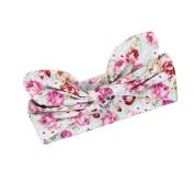 Alonea Kids Girls Baby Headband Toddler Bow Flower Hair Band Accessories Headwear