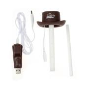 USB Portable Mini Cowboy Caps Humidifier,Tuscom@ Aroma Air Diffuser Mist Maker