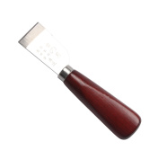 Wooden Handle Stainless Steel Leathercraft Cutting Knife Craft Tool Home Skiving Tool Accessories
