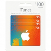 Itunes Gift Card Multipack Pack of 4 by_avalonteam