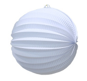 SUNBEAUTY Pack of 6 about 20cm Paper Lantern Light Chinese Lamp Pleated Paper Lanterns Accordion Lantern for Wedding Baby Shower Bridal Shower Decoration Party Home Events Hanging Decor