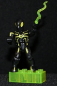 Mega Bloks Marvel Microfigures Series 3 Stealth Spiderman Rare #91248