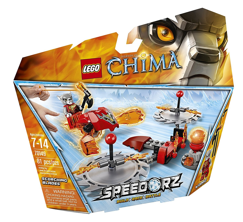 Lego Chima Blades 70149 Toy Building Scorching GqVSUzMp