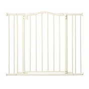 Supergate Arched Auto Close Gate, White
