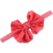 Highpot Baby Cute Bow Adjustable Headband Photo Party Decor Hair Accessories