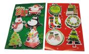 Christmas Jiggle Gift Tags Bundle, 2 Items