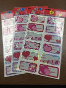 Valentine Heart Laser Gift tags