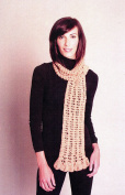 Crochet Puff Scarf - Karabella Yarns Crochet Pattern KC563