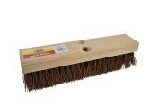 Janico 4212 Bristles Deck Scrub Brush with Palmyra Bristles, 30cm , Brown