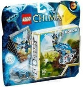 Game / Play LEGO Chima Nest Dive (70105), Includes Eglor minifigure with 2 weapons, Launch into the nest Toy / Child / Kid