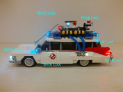 Ghostbusters Ecto-1 Lighting Kit for Lego 21108 (Car Not Included) Light Up by Brick Loot