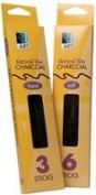 Art Alternatives - Vine & Willow Charcoal - Vine Charcoal - Extra Soft, 3/Box