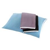 Travel Pillow Cover, Black, 38cm x 50cm