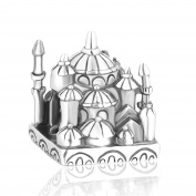 Lovan 925 Sterling Silver Charm Cathedral, Gift for Lover,Children, Friends
