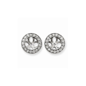 Top 10 Jewellery Gift 14k White Gold A Diamond Earring Jacket