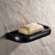 Traditional Design Bathroom Wall Mount Brass Material Soap Dish Holder Soap Shelf for Soaps Set Mounted with Concealed Screws
