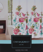 Cynthia Rowley Floral Fabric Shower Curtain 'Giacomo Wild Fiore'