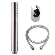 XVL Handheld Showerstick Bathroom Shower Brass with Hose and Holder, Brushed Nickel T6120c