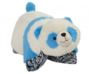 CJ Products Pets Mystical Panda Pillow, 41cm , Black/White/Turquoise