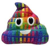 Emojicon Gummy Bear Scented Poop Pillow