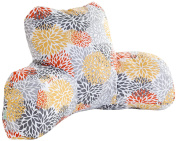 Majestic Home Goods Blooms Reading Pillow, Citrus