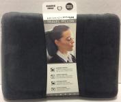 Sharper Image Rate #1 Memory Foam Travel Pillow Grey