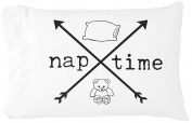 Oh, Susannah Naptime Pillow Case Crossed Arrows - Toddler Pillowcase