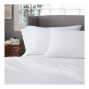 Genuine Deal - Real Egyptian Cotton Queen Sheet set , White In 50cm Deep Pocket Fitted Sheet , 800 Thread Count