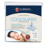 Guardsman Cool Guard Mattress Protector, Queen