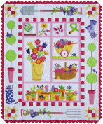 Garden Quilt Patterns; Full Size Patterns, Full Size Placement Sheets, & Instructions, for a 130cm by 160cm Quilt