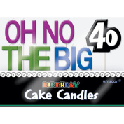 Oh No.. 40 Cake Candles