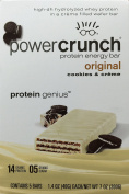 Power Crunch Protein Energy Bar Cookies & Creme - 40ml Bars, 5 Count
