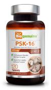 PSK 16 Mushroom 1070 mg 120 Tabs - Natural Immune Defence Blend