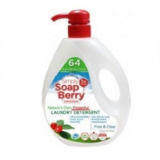 Simply Soapberry Laundry Detergent - Free and Clear - 64 Loads - 950ml