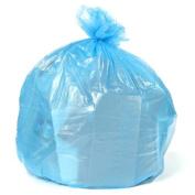 Plasticplace 75.7-113.6l Recycling Bags 1.2 Mil, 80cm W x 90cm H, Blue, 200 / case