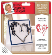 Leonie Pujol Entwined Collection Funky Heart Set Lovely Bubbles Metal Die
