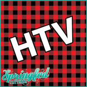 RED BUFFALO PLAID PATTERN HTV Heat Transfer Vinyl 30cm x 36cm Flannel Pattern for Shirts