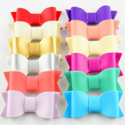10 pcs Leather Bow for DIY Craft Supply