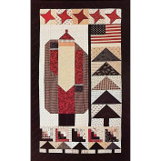 Uncle Santa 18 x 31 Quilt Pattern Country Threads