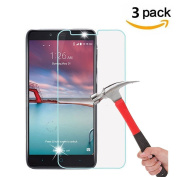 [3 Pack] ZTE ZMAX Pro / Z981 Screen Protector, VPR Premium Tempered Glass for ZTE ZMAX Pro / Z981 with [Ultra-Clarity] [Highly Responsive] [No-Bubble Installation]