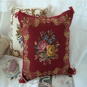 New Royal Collection Handmade Wool Needlepoint Cushion Cover/ Pillow Sham NP501