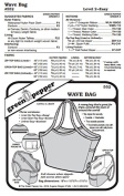 Wave Bag Carry All Purse Pack Tote #552 Sewing Pattern
