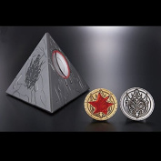 Doubutsu Sentai Zyuohger Ginis's Toy & Continue Medal & Moeba Medal Set